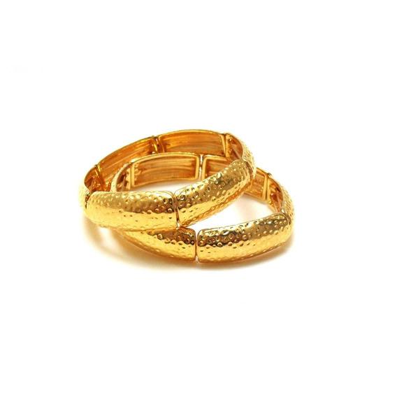 Bracelete Dourado Duas Voltas 4800