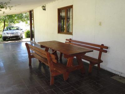 Casa A 100 Mts Playa, 3 Dormitorios Capacidad 9 Personas