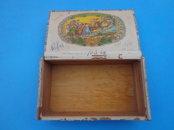Caixa Madeira Suerdieck 50 Florinha Década 60