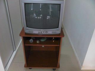 Televisor 20 Pulgadas Top House C/ Mesa De Madera