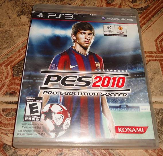 Pes 2010 Pro Evolution Soccer - Playstation 3
