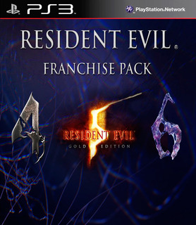 Resident Evil 4 + Re 5 Gold Ed + Re 6 Ps3 Digital Gcp