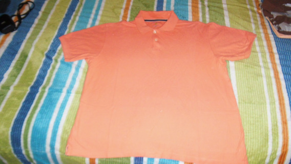Playera Tipo Polo Club Room Talla M Color Mamey Nueva Hombre