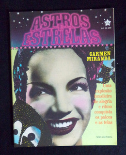 Revista Astros E Estrelas Carmen Miranda N°17