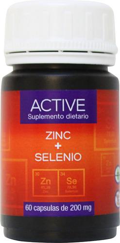 Zinc+selenio En Capsulas. Más Vitalidad, Más Memoria