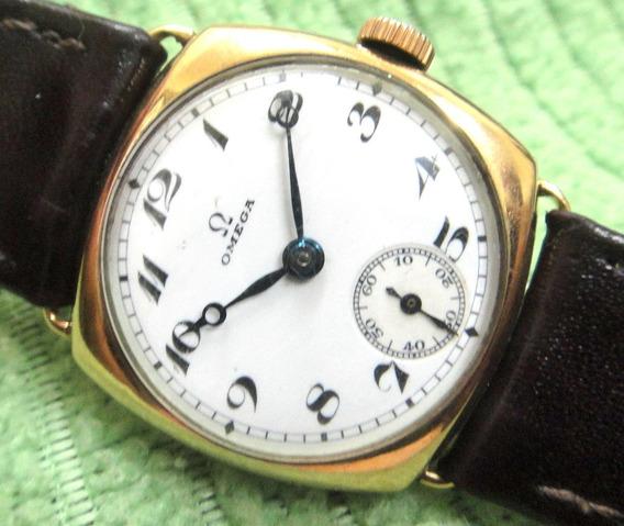 Relógio Omega Vintage De Ouro 18k Fabricado Em 1932 Perfeito