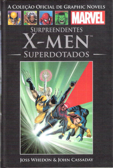 Surpreendentes X-men Superdotados Grap Novel 36 Salvat 2013