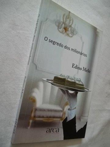 * Livro - O Segredo Dos Milionarios - Literatura Nacional