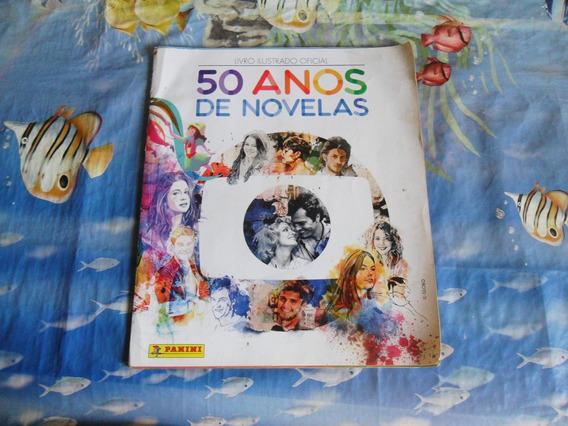 Livro Ilustrado Oficial 50 Anos De Novelas