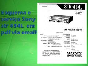 Esquema E Serviç Sony Str 434bs Str434bs Em Pdf Via Email