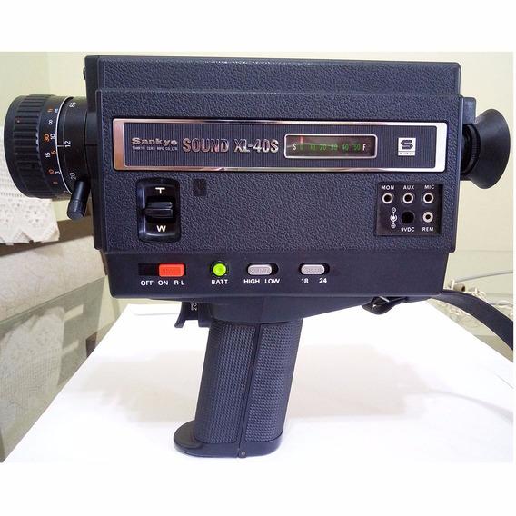 Filmadora 8mm Sankyo Sound Xl-40s