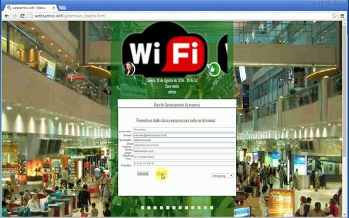 Imagem 1 de 6 de Hotspot Auto-login,senha Com Cadastro No Primeiro Acesso Wif