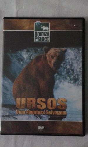 Dvd Ursos Uma Aventura Selvagem Documentario