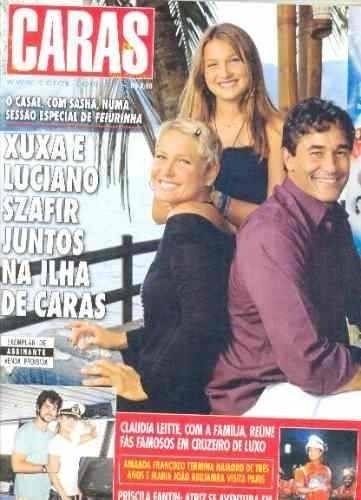 Xuxa, Luciano E Sasha Na Ilha De Caras