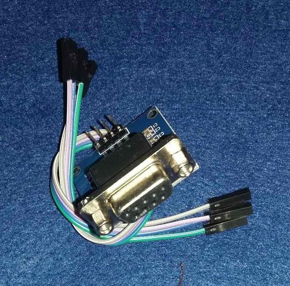 Conversor Rs232 Serial Ttl Femea Max3232 - L3