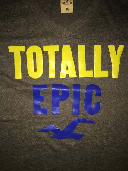 Camiseta Hollister Usada Mas Original