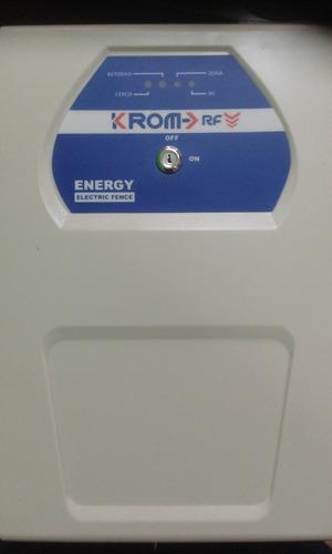 Energizador Krom Con Control Para 1500 Mts. 13000v