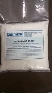 Nitrato De Sodio 1 Kg Food Grade (alimentício)
