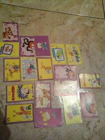 Lote Com 18 Figurinhas Rugrats - Os Anjinhos (auto-colantes)