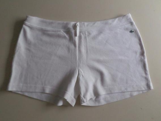 Pantalon Short Lacoste Talle 36 / 46 Mujer