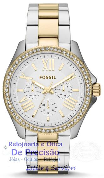Relógio Fossil Cecile Multi-função Am4543/5kn