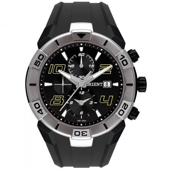 Relógio Orient Mpspc006 P2px Sport Masculino Preto- Refinado