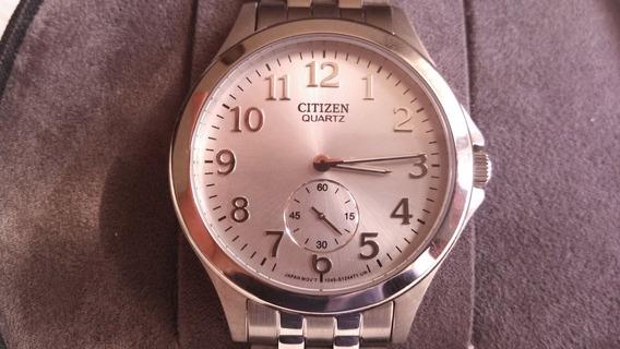 Citizen Reloj De Pulsera Acero Cronógrafo Nuevo Color Plata