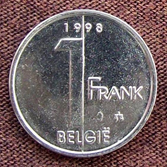 Bélgica - Moneda De 1 Franco 1998 ¡ Sin Circular !