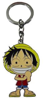 Luffy Llavero De Metal One Piece