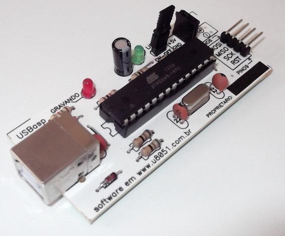 Gravador Microcontrolador Usb 8051 Atmel Atmega