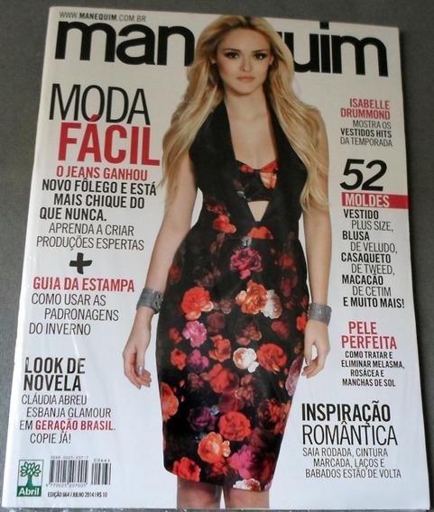 Revista Manequim 664 Isabelle Drummond Julho 2014 - Lacrada