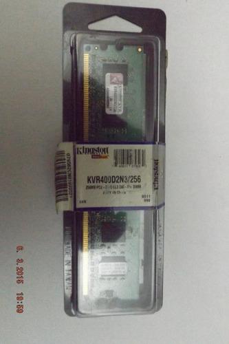 Memoria Kingston De 256 Mb Ddr2 400