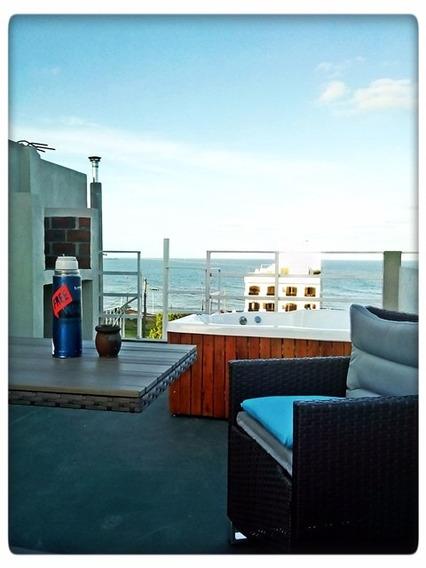 Departamento Mar Del Plata -vista Al Mar- - Parrilla