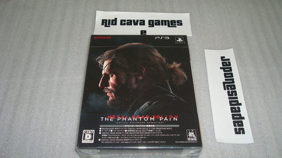 Metal Gear Solid V The Phantom Pain Special Edition Jp Ps3