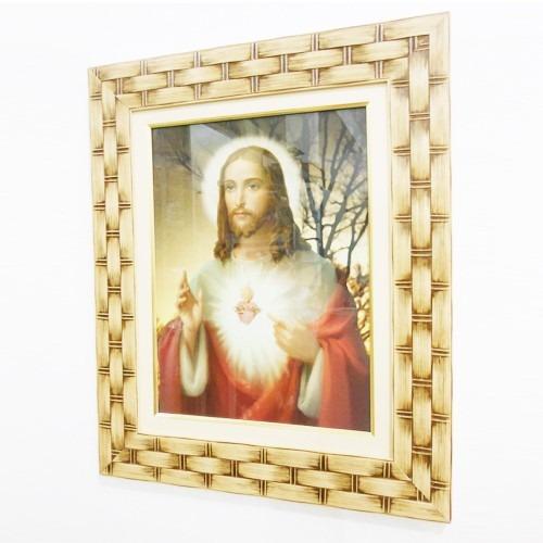 Quadro Sagrado Coração De Jesus- Quadro Decoração
