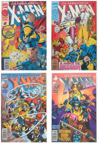Lote Os Fabulosos X-men (formatão) Anos 90 (envio Incluído)