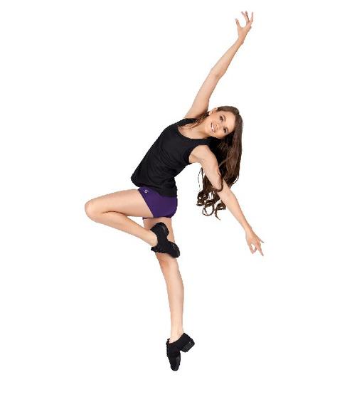 Zapatos Tenis Para Baile De Capezio (niña)