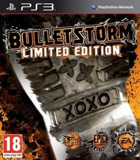 Bulletstorm. Limited Edition. Ps3. Nuevo Y Sellado