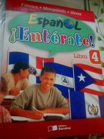 Livro - Español ¡entérate! 4 Livro Usado