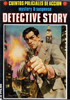 Revista Detective Story 4 - Ray Collins A Fernandez Precinto