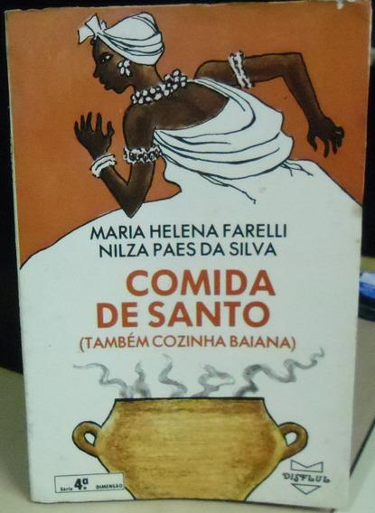 Edição Antiga Livro Comida De Santo (também Cozinha Baiana)