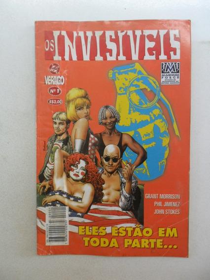 Os Invisiveis Nº 1! Editora Magnum Maio 1998!