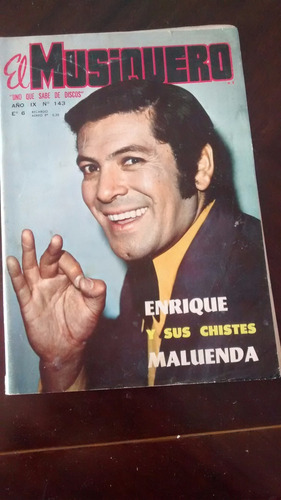 Revista El Musiquero  N° 143 -maluenda Los Moros (485