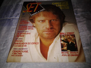 Revista Set N 8, Ano 1 Original Frete Gratis