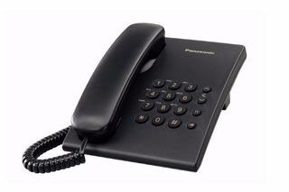 Kx-ts500me Telefono Panasonic Unilinea Negro