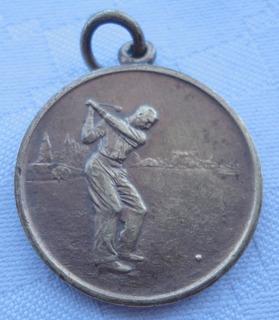 Monijor62-antigua Medalla De Golf San Isidro Año 1957