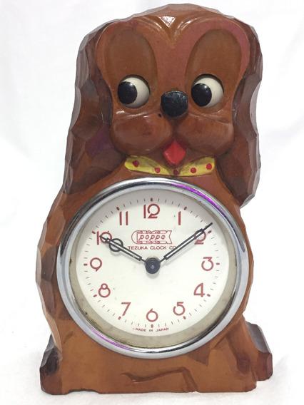 Raro Y Hermoso Reloj Perrito Mueve Los Ojos Tezuka Clock