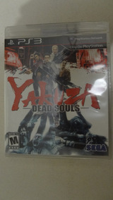 Yakuza Dead Souls Para Ps3 Novo E Lacrado