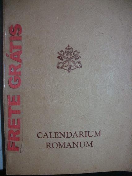 Livro Calendarium Romanum (em Latim)