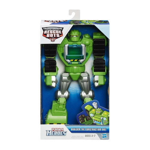 Heroes Playskool Transformer Boulder El Constructor Bot (25)